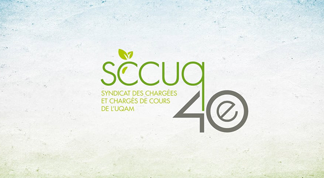 SCCUQ cocktail 40e anniversaire